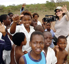 Barbara Rick in South Africa